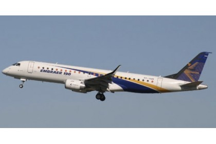 "Embraer 190-100STD ""House Color"" PP-XMB (1:200 scale)"