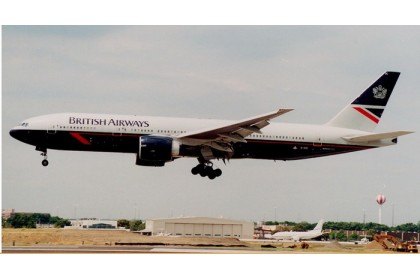 [Pre-order] British Airways Landor B777-200ER G-VIIC (1:400 scale)
