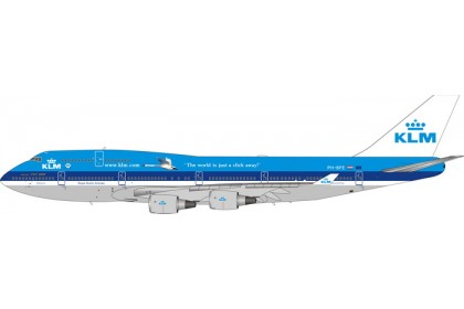 [Pre-order] KLM Royal Dutch Airlines Swan B747-400 PH-BFE (1:400 scale)