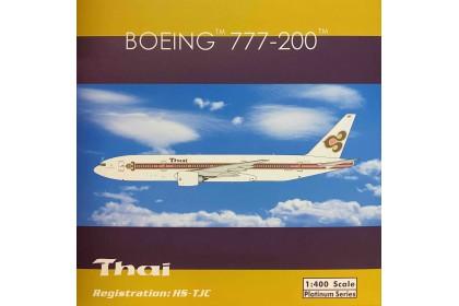 """Thai Airways B777-200 """"Speedline"""" Livery HS-TJC (1:400 scale)"""