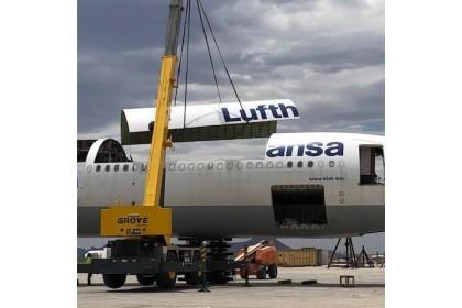 Original Aircraft Skin Lufthansa Airbus A340 – D-AIHR