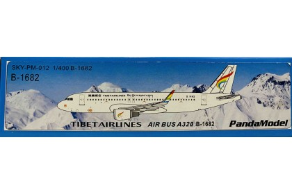 Tibet Airlines A320 B-1682 (1:400 scale)