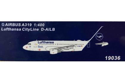 Lufthansa CityLine A319 D-AILB (1:400 scale)