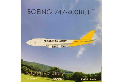 Kalitta Air DHL B747-400 N740CK (1:400 scale)