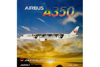 Japan Airlines 20th Arashi Thanks Jet A350-900 JA04XJ (1:400 scale)