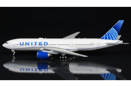 """United Airlines Boeing 777-200 N210UA """"new livery"""" (1:400 scale)"""