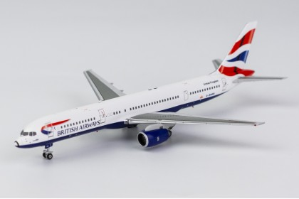 "British Airways B757-200 ""Union Flag with RB211-535C engine"" G-BMRB (1:400 scale)"