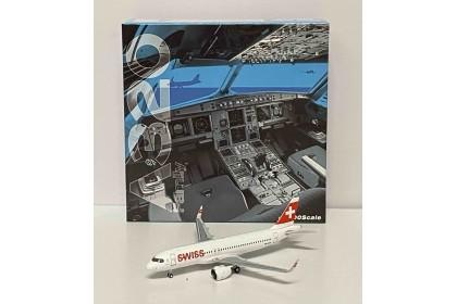 Swiss Airbus Airbus 320neo HB-JDA (1:400 scale)