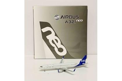 "Scandinavian Airlines SAS Airbus 321neo SE-DMO ""Jarl Viking"" (1:400 scale)"