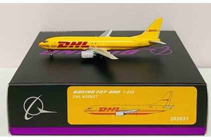 DHL Boeing 737-400 N309GT (1:400 scale)