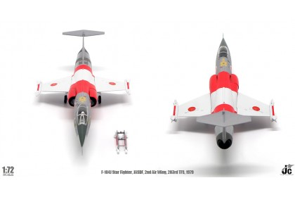 F-104J Starfighter, JASDF, 2nd Air Wing, 203rd TFS, 1979, Reg: 46-8650 (1:72 scale)