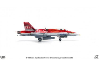 CF-188 Hornet, Royal Canadian Air Force, 150th Anniversary of Confederation Edition, 2017 (1:144 scale)