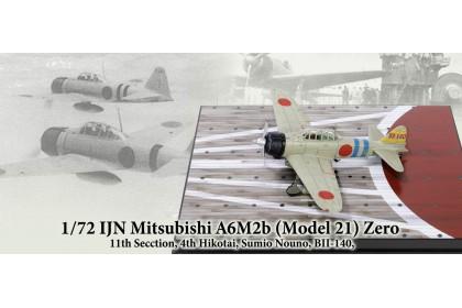 IJN Mitsubishi A6M2b (Model 21) Zero (1:72 scale)