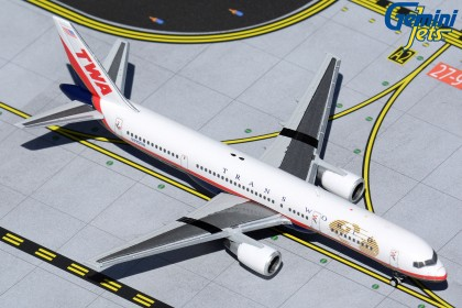 Trans World Airlines Boeing 757-200 N725TW (1:400 scale)