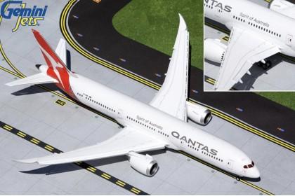 """Qantas Airways Boeing 787-9 VH-ZNK """"flaps-down version """"(1:200 scale)"""