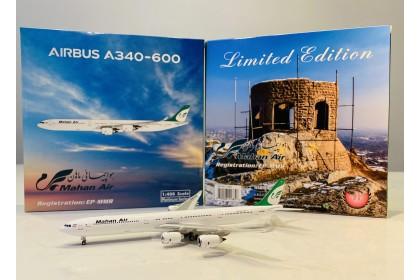 Mahan Air Airbus 340-600 EP-MMR (1:400 scale)