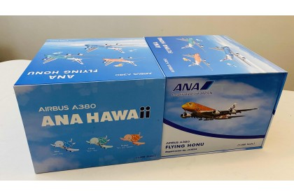 "All Nippon Airways ""Flying Honu"" Airbus 380 Gift Box"