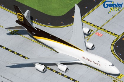 UPS Airlines Boeing 747-8F N607UP (1:400 scale)