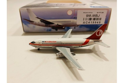 Malaysia Airlines Boeing 737-200 9M-MBJ (1:400 scale)