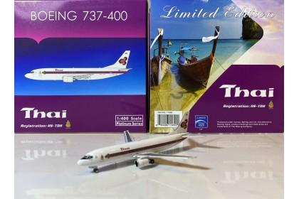 "Thai Airways Boeing 737-400 HS-TDH ""King's logo"" (1:400 scale)"