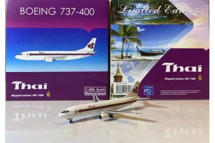 """Thai Airways Boeing 737-400 HS-TDK """"King's logo"""" (1:400 scale)"""