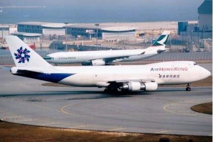 Air Hong Kong 香港華民航空 Boeing 747-200 B-HMD (1:400 scale)