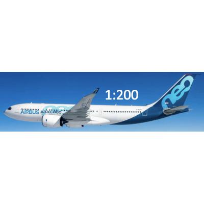 Commercial Plane  - Passenger 1:200